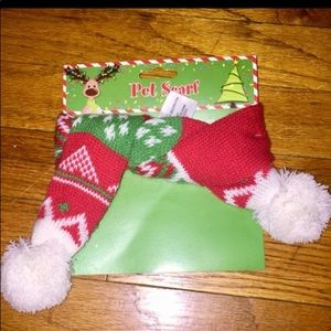 DOG CLOTHES Holiday Pet Scarf S NWT